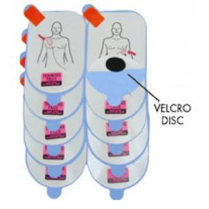 Defibtech electrodos adulto entrenamiento (5 pares)