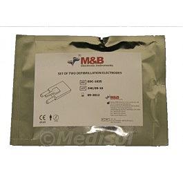 M&B AED 7000 elétrodos