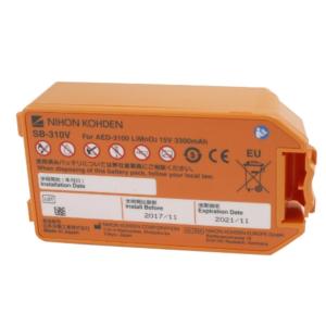 Nihon Kohden batería para AED-3100